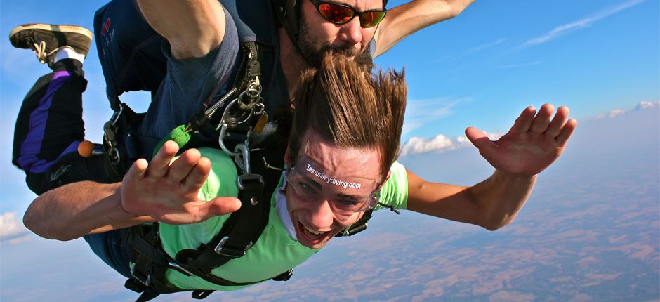 Texas Skydiving Center, Tandem skydiving!!! This sounds ...