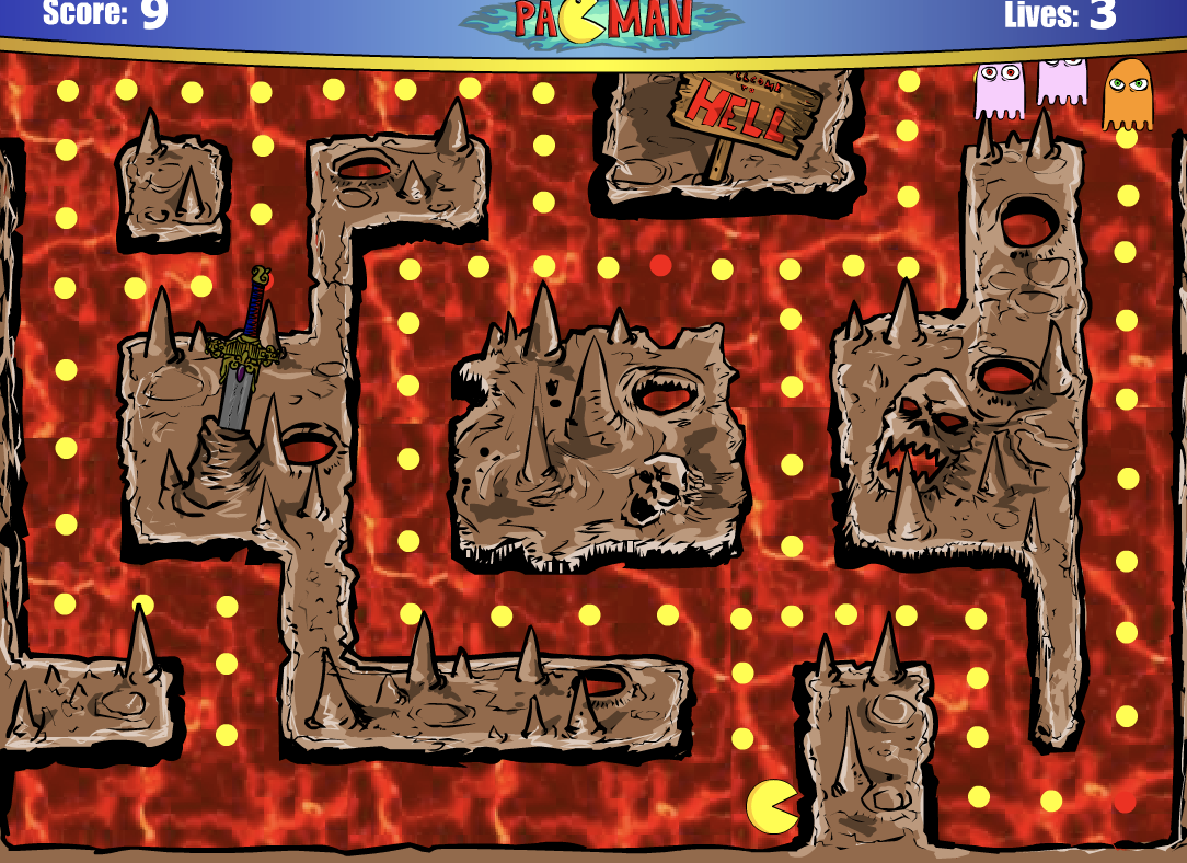 Play 2005 Pacman Game in 2020 Pacman game, Play free