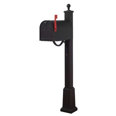 Special Lite Products Titan Aluminum Curbside Mailbox With