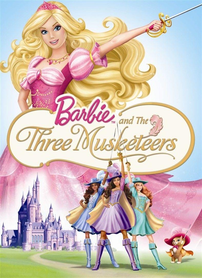 Pin By Kara Harvey On Cartoons Barbie Movies The Three Musketeers Barbie