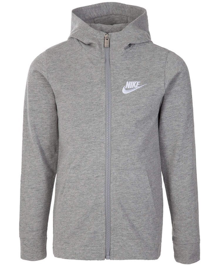 Nike Little Boys Full Zip Logo Hoodie in 2019 | Nike zip