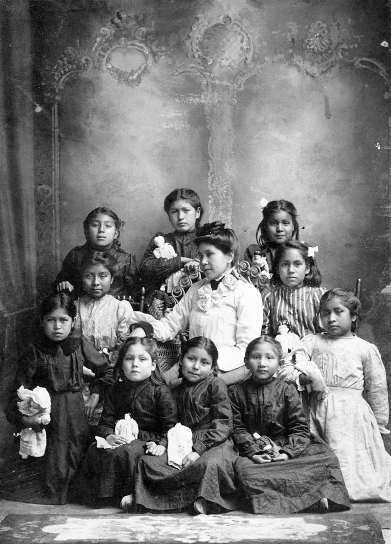 orphanages in the 1800s native american assimilation how native