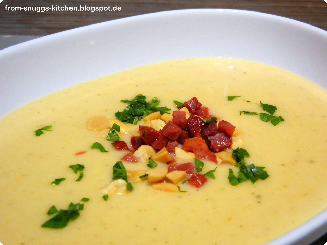 Erdnuss-Kartoffel-Suppe
