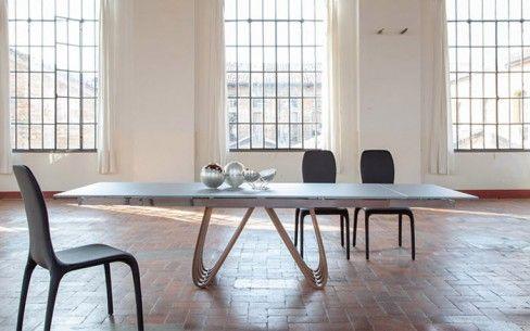 Tonin Casa, tavolo allungabile Arpa | Design Diseño Light ...