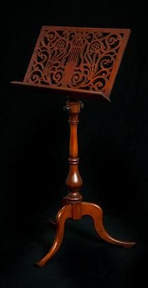 George Ii Classic Wooden Music Stand With Images Music Stand