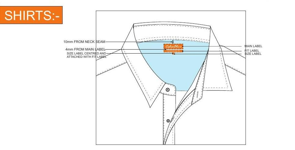 #ClippedOnIssuu from Orange line shirts trouser label guideline