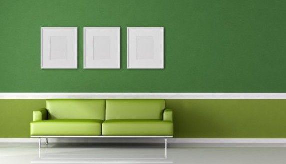 Wandgestaltung Grün - fresHouse grün Pinterest - wohnzimmer farbgestaltung grun