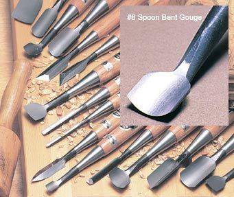 3 4 8 Spoon Bent Gouge Takahashi The Japan Woodworker Catalog Outils Sculpture Bois Outils De Menuiserie Projets De Bricolage Et Loisirs Creatifs