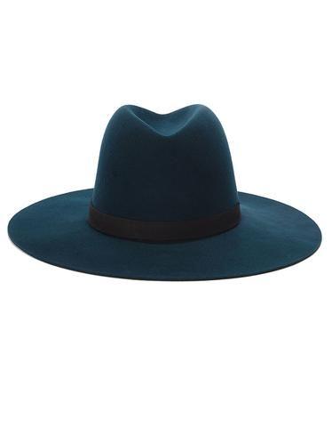 Janessa Leone Fia Teal Hat  a24f9e04c474