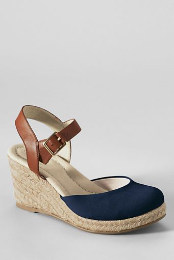 fd94ef33407 Women's Cara Closed Toe Espadrilles from Lands' End | Hot Ish I ...