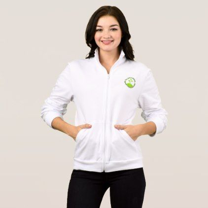 #women - #Seeds Women's Fleece Zip Jog Jacket