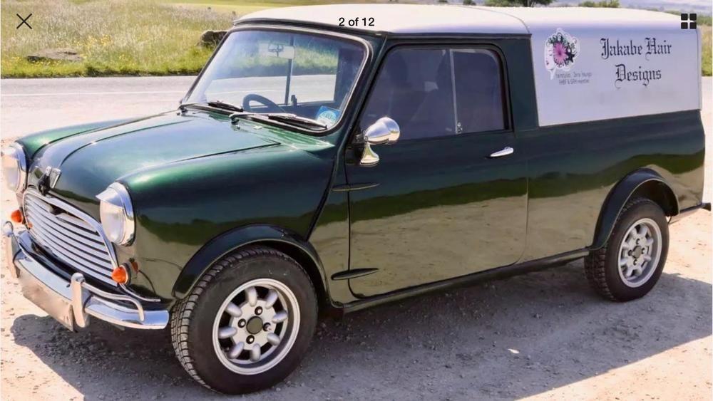 eBay: CLASSIC MINI PICKUP TRUCK 1972 AUSTIN PICK UP VAN