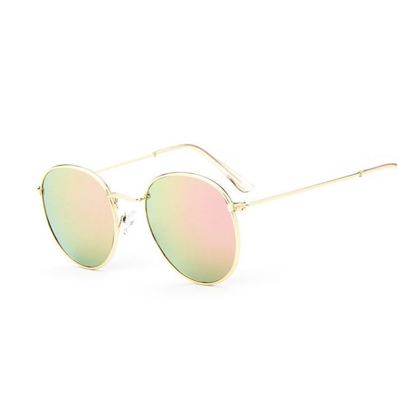 1971ef2b949ba 2016 retro round sunglasses women men brand designer sun glasses for women  Alloy mirror sunglasses ray female oculos de sol    This is an AliExpress  ...