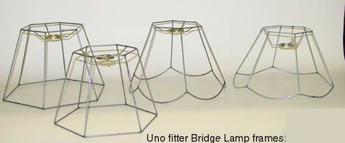 Slip Uno Fitter Lamp Shade Amusing Bridge Lamp Shade Frames  Lampshades  Pinterest  Lamp Shade Frame Inspiration