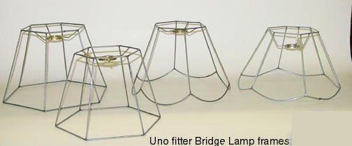Bridge lamp shade frames lampshades pinterest lamp shade frame bridge lamp shade frames aloadofball Image collections