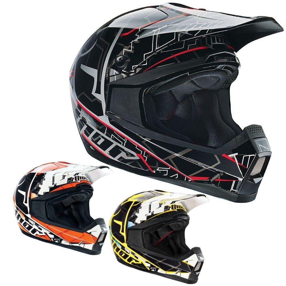 Thor Quadrant Fragment Youth Motocross Helmets