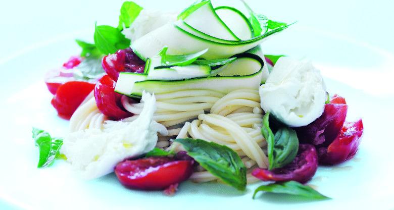4 summer tomato pasta