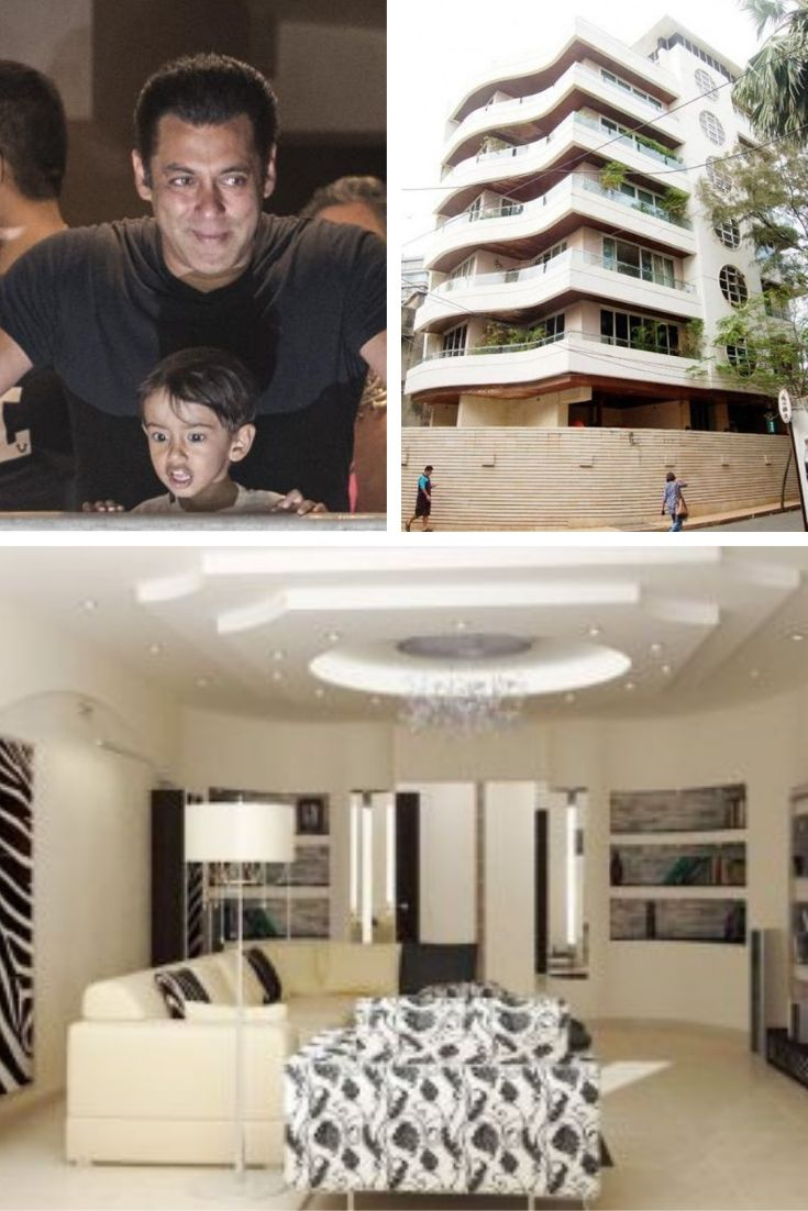 Salmankhan S Bandra House Galaxy Apartment He Lives A