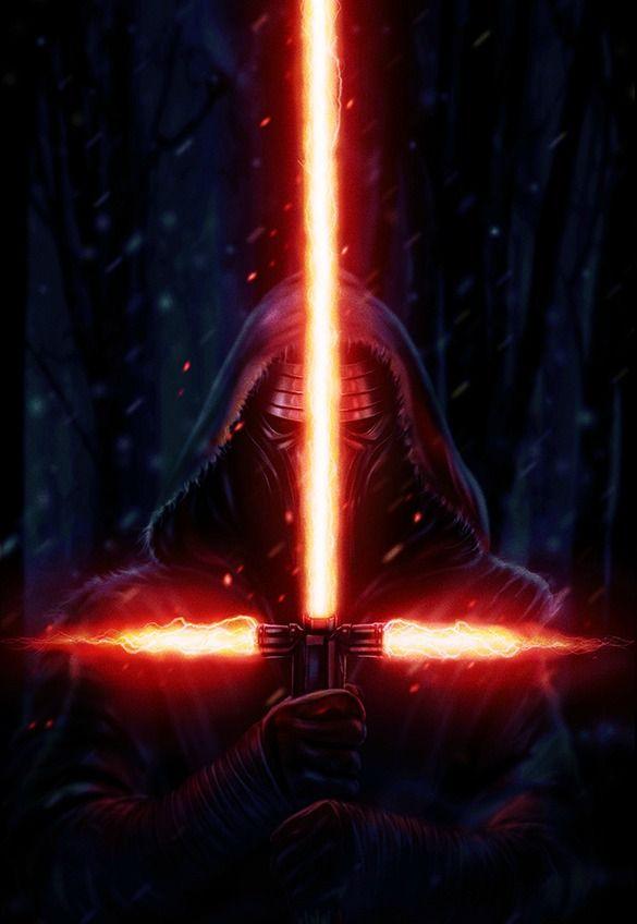 The Dark Side By Eddie Holly Star Wars Wallpaper Star Wars Artwork Star Wars Episode Vii