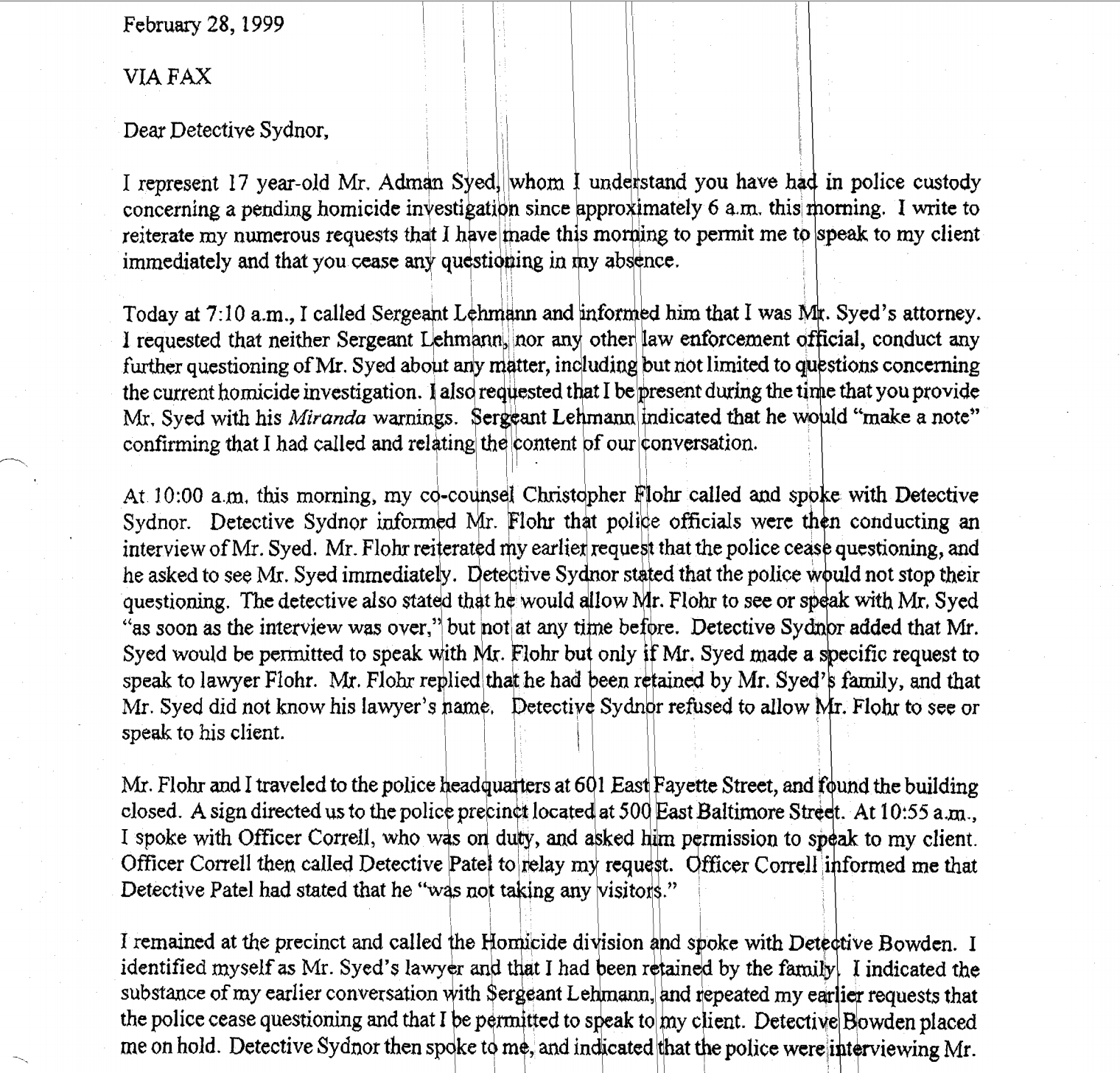 rabia s blog split the moon adnan s attorney sends this letter  adnan s attorney sends this letter in frustration