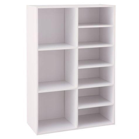 Neu Home Multi Cube And Shelf Organizer White Shopko Shelf Organization Shelves Cube Shelves
