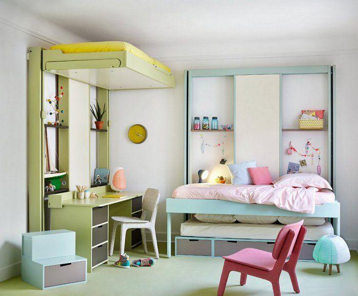 Chambre Pour Deux Enfants : Comment Bien L'Aménager ? | Decorating