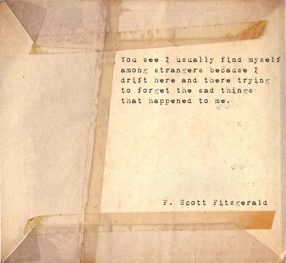 f. scott fitzgerald he is my favorite forever