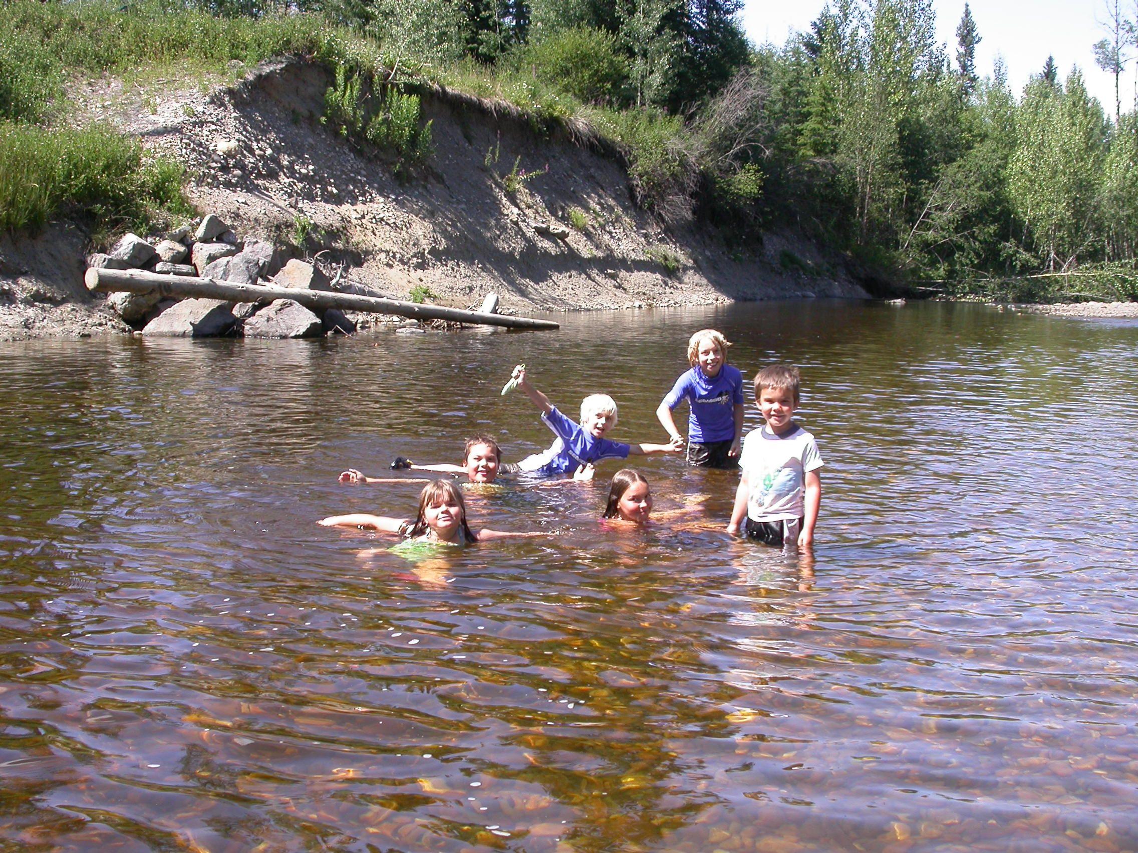 Kids In The Creek Canyon Creek