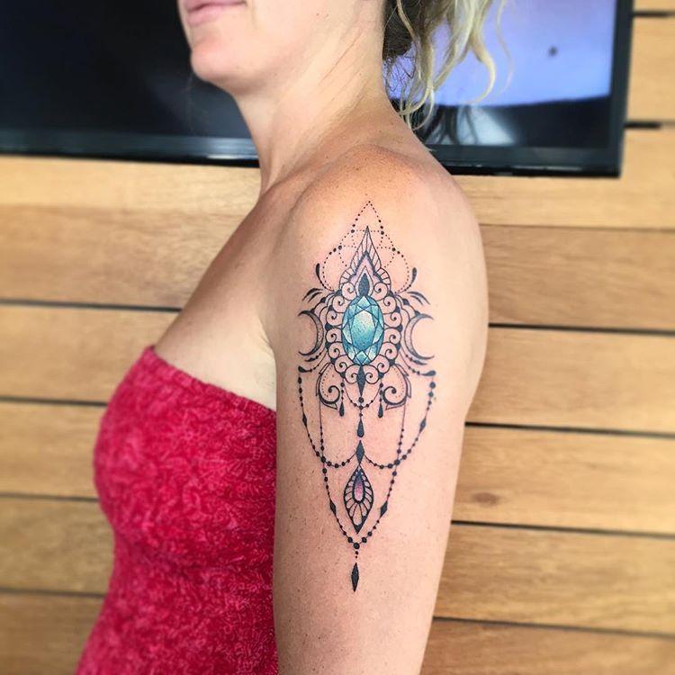 """•AngelikaFerrous•Artist trên Instagram: """"Done in @kolonitattoo #tattoo #tattoos #ballitattoo #bali #tattooing #tattooink #ink #tattooedgirl #tattooedgirls #talismantattoo #talisman…"""""""