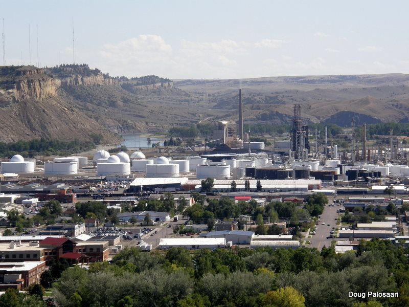 Oil Refinery My Hometown Billings Montana Cody
