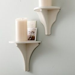 Bryson Wall Bracket (See these all the time, just need to paint white)