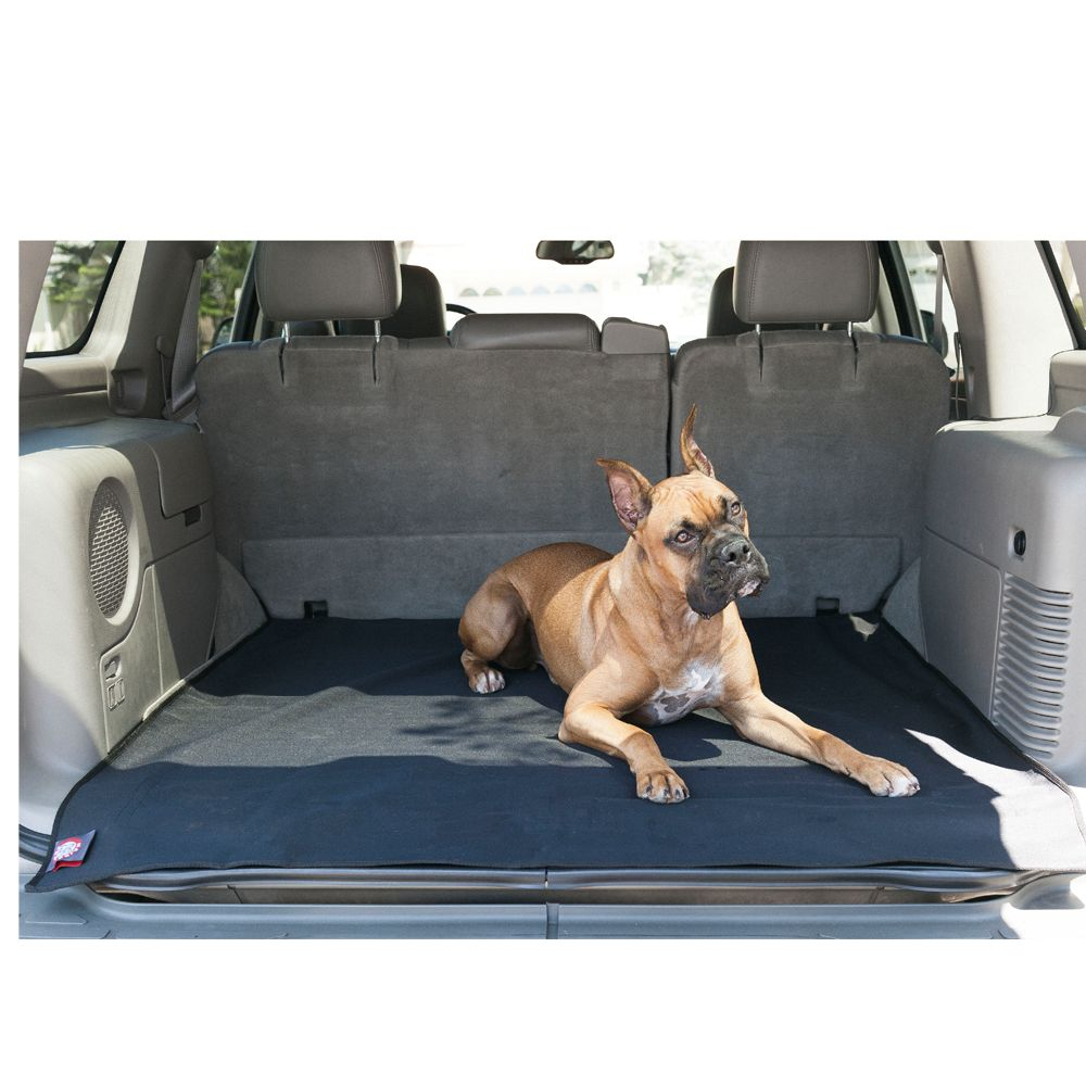 Majestic Pet Products Cargo Liner Size 50 L X 52 W Black Dog Boarding Near Me Pet Stairs Dog Car Accessories