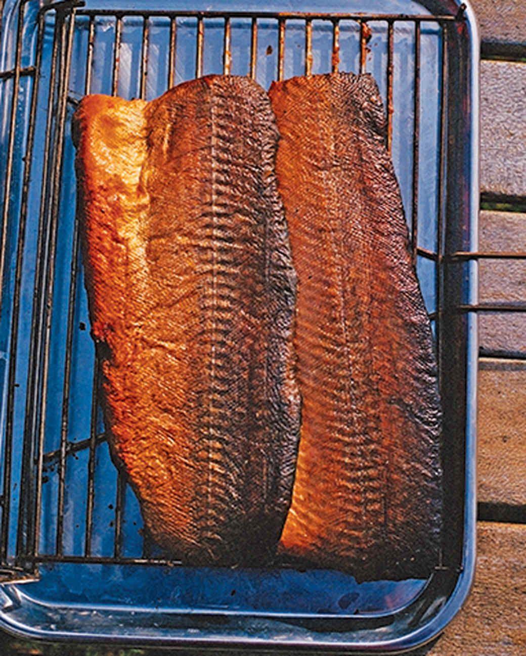 How to Smoke Fish Receita imagens) Peixe e