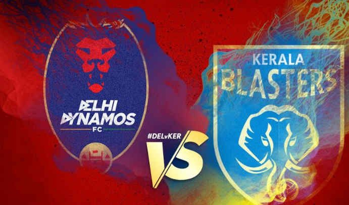 Delhi Dynamos vs Kerala Blasters Live Streaming ISL