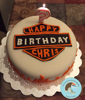 Sweets By Flor Harley Davidson Cake With Images Cake Birthday