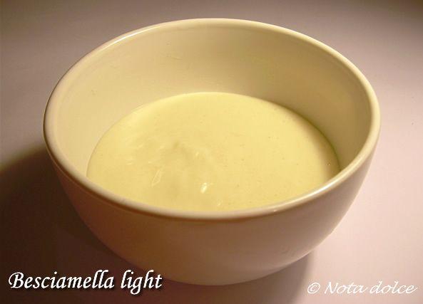Besciamella light ricetta senza burro ricetta for Cucinare vegetariano