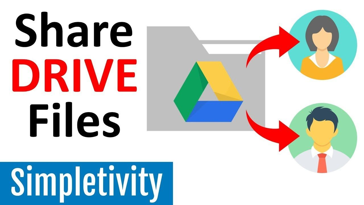 How to share google drive files folders with a link my