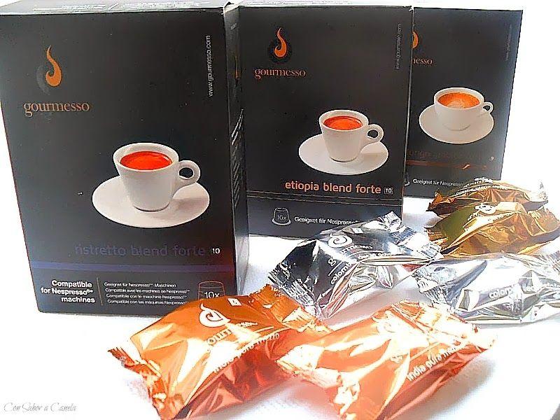 Flan de café Gourmesso y chocolate