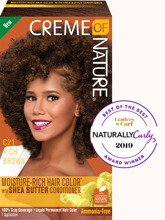 Experience Creme Of Nature Moisture Rich Hair Color With Ultra Moisturizing Mango Shea Butter Conditioner For Multi Dimen Rich Hair Color Hair Color Creme