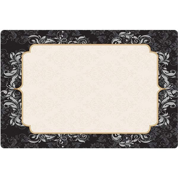 Elegance Placemats 1000 Ct Competitive Bulk Pricing Plastic Dinnerware Hotel Decor Placemats