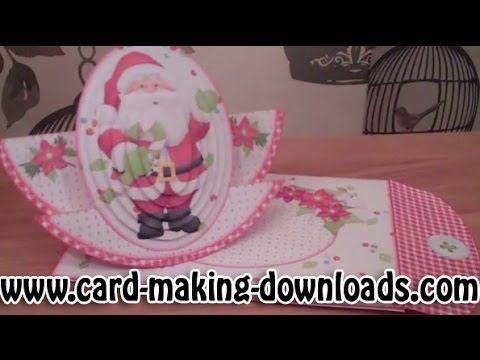 Ho Ho Ho Rocker Stepper Card 1 25 Instant Card Making Downloads Cards Step Cards Stepper Cards