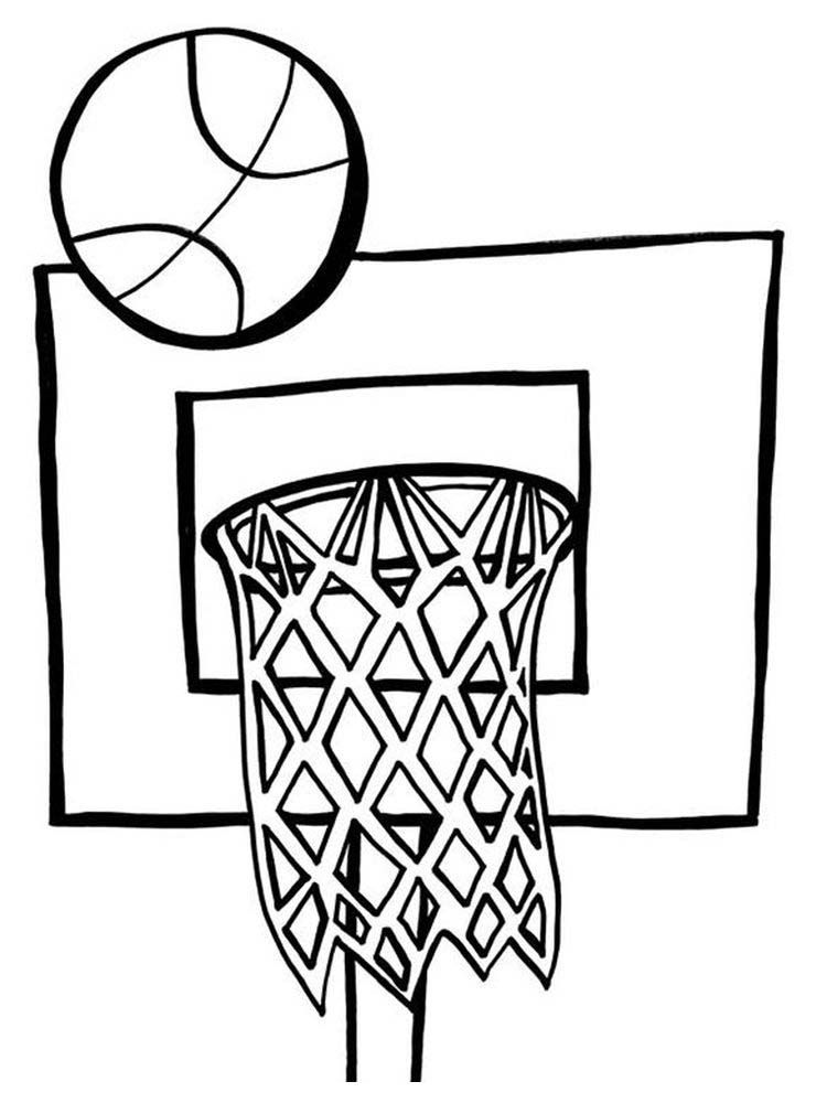 Basketball Coloring Pages Golden State Warriors Below Is A Collection Of Great Basketball Coloring Page That Y Coloring Pages Free Basketball Printable Sports