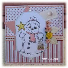 Image result for magnolia snowman stamp