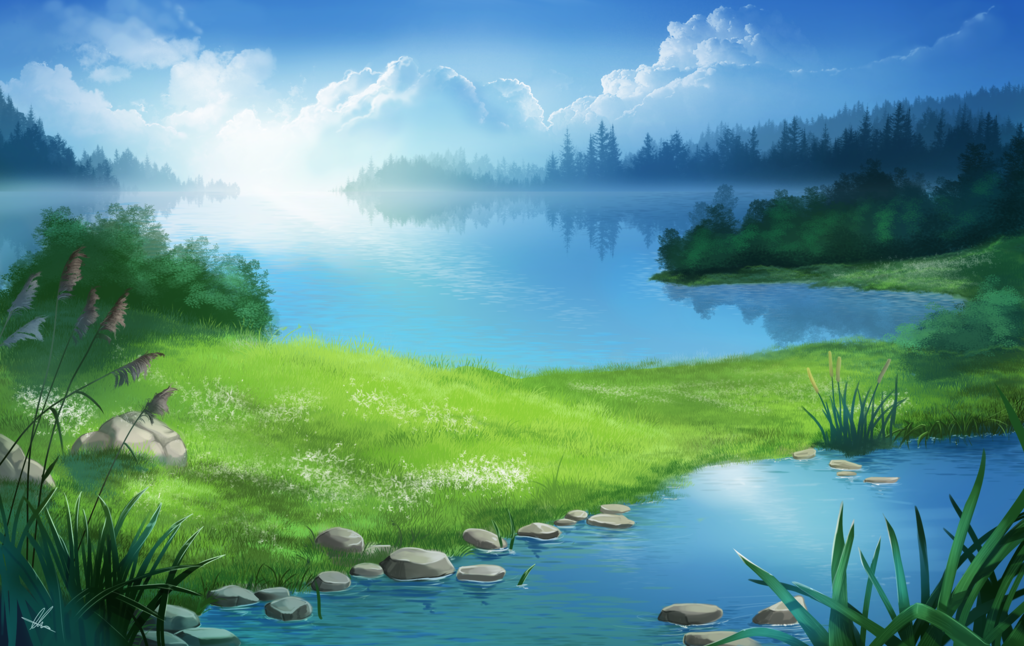 Valley of lakes by Aomori on deviantART