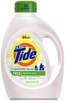 Tide Free Clear 2x Concentrated 50 Oz Laundry Detergent