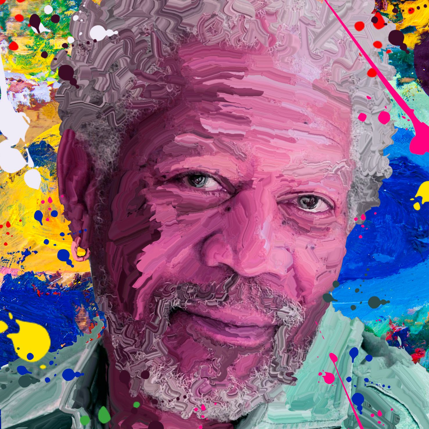 Hard smudge paint effect morgan freeman photoshop tutorial hard smudge paint effect morgan freeman photoshop tutorial httpyoutu baditri Choice Image