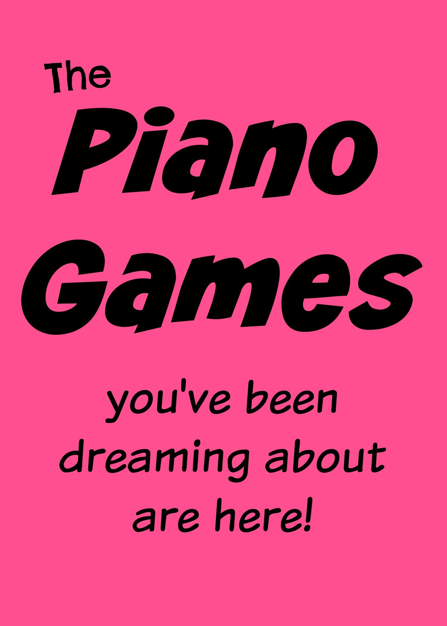 Amazingly fun and professionally designed piano games for