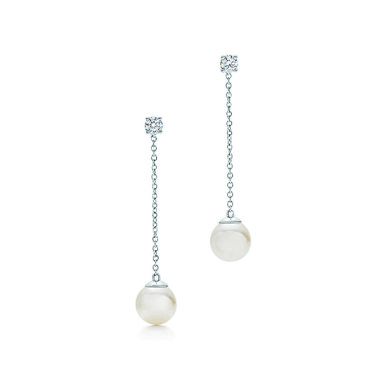 Tiffany Signature™ Pearl Drop Earrings