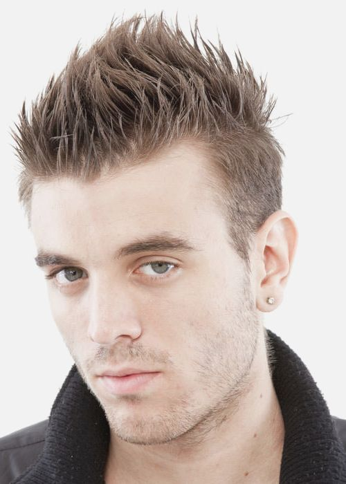 Trendy Mens Spiky Hairstyles For 2016 Haircuts Hair Styles