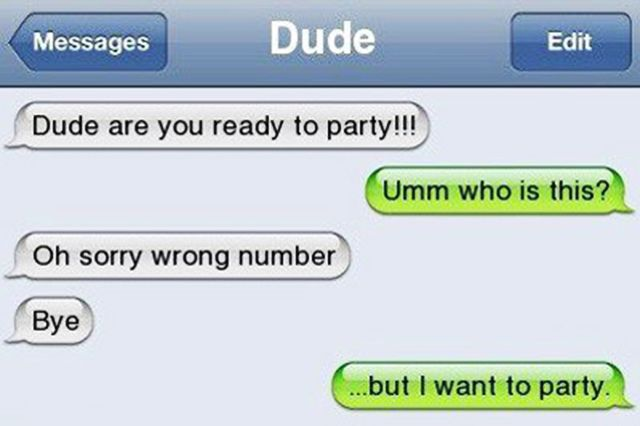 Some funny messages